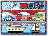 Melissa & Doug Vehicles Chunky Puzzle