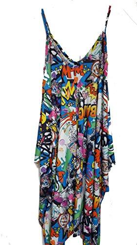 THE FASHIONISTA - Combinaison - Femme Multicolore Bigarré Multicolore - BANG COMIC PRINT