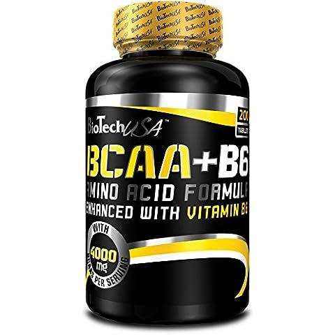 BCAA 1000+B6 - Biotech USA - Aminoacidi Ramificati + B6 380 tav offerta