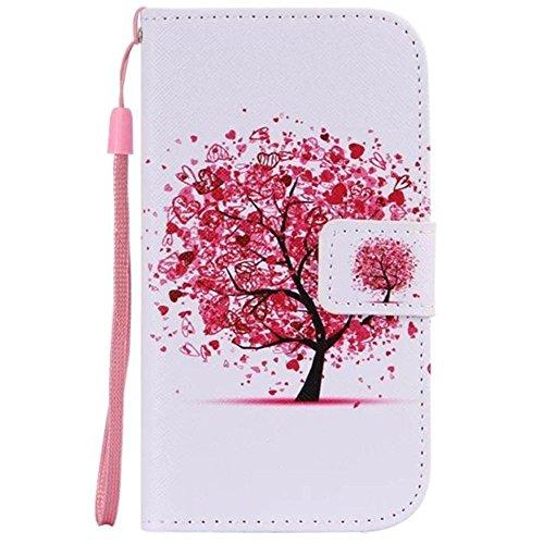 HUANGTAOLI Custodia in Pelle Portafoglio Flip Case Cover per Samsung Galaxy S3 SIII i9300/S3 Neo i9301