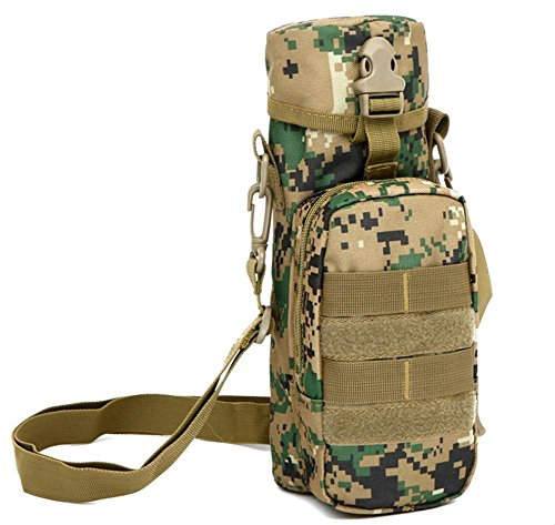Outdoor-Camo 800ml Wasserkocher Sport Bike Messenger Tasche 5#