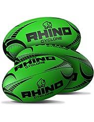 Rhino Cyclone Rugby Ball - Neongrün