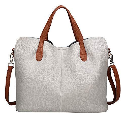 TianWlio Damen Klassische Handtasche Mode Umhängetasche Handtasche Leder Pure Farbe Crossbody Tasche Reißverschlusstasche Handtasche Winged Schultertasche Groß Umhängetasche Taschen