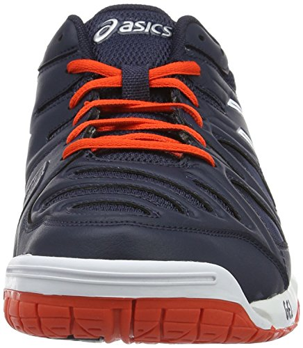 Asics Gel-Game 5, Chaussures de Tennis Homme Multicolore (Sky Captain/White/Orange)