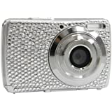 Easypix V527 Diamond Digitalkamera (5 Megapixels, 8-fach Digitalzoom, 6,9 cm (2,7 Zoll) Display, Fashion Digitalkamera) silber