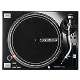 Reloop RP de 7000?DJ Platine disque avec une High Torque très forte Quartz de Entraînement Direct, höhenverst. MK2 Bras de lecture en S Noir Schwarzmetallic