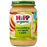 Hipp Pouding Au Riz Biologique À La Pomme Et De Poire 7 + Mois 190G