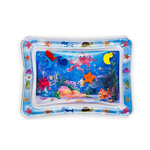 Janly Wassermatte,Kinder/Kleinkinder Aufblasbare Baby Wassermatte Fun Activity Play Center