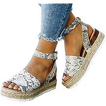 outlet store 9e77c 85db5 Amazon.it: sandali platform donna - Argento
