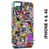 Coque Etui iPhone 4/4S Personnages Manga Cartoon Web Youtube étui Housse Case Cover...