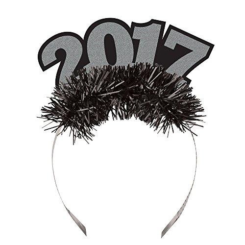 31800525Count 2017Neue Jahr Glitter Tiara (Glitzernden Kostüm Schmuck)