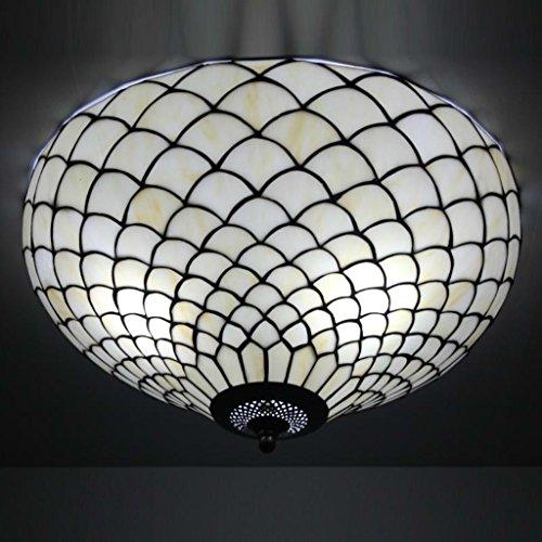 Gweat Tiffany 20-Zoll-europ?ischen Moderne minimalistische Wohnzimmer Deckenleuchte Warm Schlafzimmer Big Deckenleuchte kreativen Sterne 2001G
