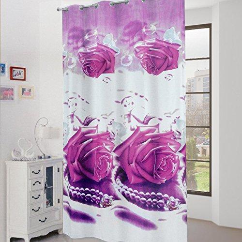 Panel cortina decoración Rose con impresión...