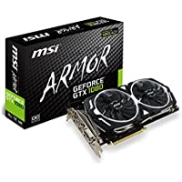 MSI GeForce GTX 1080 ARMOR OC 8GB Graphics Card