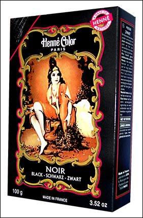 Henna color polvere 100 g nero