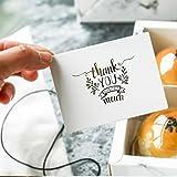 Mini sobres para manualidades, tarjetas de felicitación e invitaciones, sobres para boda, cumpleaños, fiesta, regalos de agradecimiento, 100 g/m², peso premium, 10 x 7 cm, color Gold-Thank you