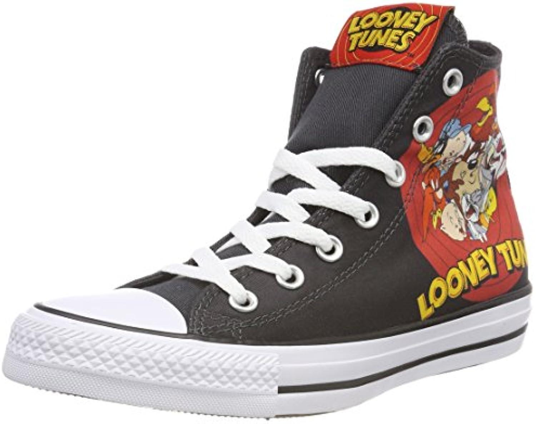 Converse Ctas Hi nero bianca rosso, scarpe da ginnastica a Collo Alto Unisex – Adulto | Ricca consegna puntuale  | Uomo/Donne Scarpa