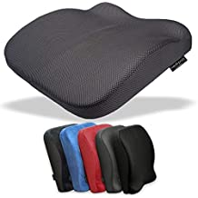 97df3b208b3 Medipaq - Cojín contorneado de espuma viscoelástica 2 en 1 para asiento y  respaldo ✮ Reduce