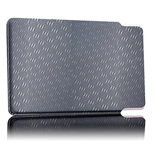 Etui de Protection breveté et testé par Le TÜV - Protection par 5 Cartes - Xentric | RFID NFC Blocker | Blindage de Champ magnétique | Brouilleurs pour Carte de crédit, Carte d'identité