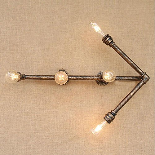 Wand-walking (Retro Industrie LED Bronze Szenerien Wasserpfeife Licht Kreative Nostalgie Walking-Typ Wand)