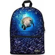 FOR U DESIGNS Casual Backpack Laptop Computer Bag College School Backpack Shoulders Bag Ourdoor Weekend Travel Daypack