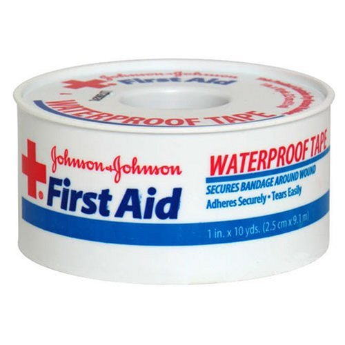 johnson-johnson-first-aid-waterproof-tape-1-inch-x-10-yards-by-jj-red-cross