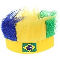 SJB-mz Simulación De La Copa Mundial Gorra De La Copa Mundial De Brasil Sombrero De Fanático del Fútbol Infantil