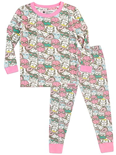 9a689cab1ef27 Marvel Girls Avengers Pyjamas Snuggle Fit Multicoloured Age 12 to 13 Years
