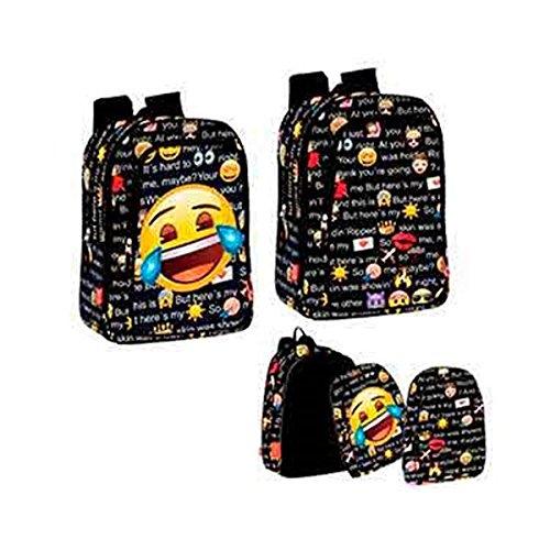 Perona-54240-Emoji-Mochila-escolar-43-cm-Multicolor