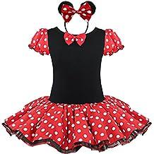 YiZYiF Baby Kinder Mädchen Kleid Halloween Karneval Kostüm festlich Partykleid Cosplay Kostüme Kleidung Festzug Gr. 80-128
