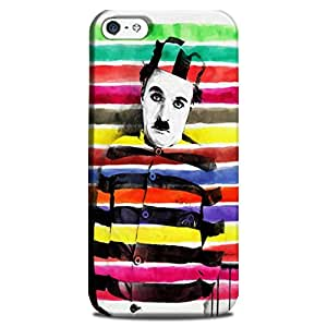 Wrapit Filmi Charlie Colour Hard Back Case Cover For Apple Iphone 4/4s