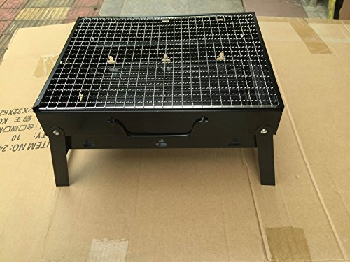 Holzkohle Grill Falten Barbecue Grill Schwarz Stahl Barbecue Pits