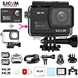 SJCAM SJ8 Pro Real 4K/60FPS cámara de acción, impermeable, control remoto WiFi, lente gran angular de 170°, pantalla táctil de 2.33', batería de 1200 mAh(funda impermeable incluida), color negro