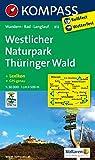 Westlicher Naturpark Thüringer Wald: Wanderkarte mit Kurzführer, Radwegen und Loipen - GPS-genau - 1:50000 (KOMPASS-Wanderkarten, Band 812) -