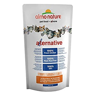 Almo Nature Cat - Alternative - Trockenfutter - Huhn & Reis - 750 g