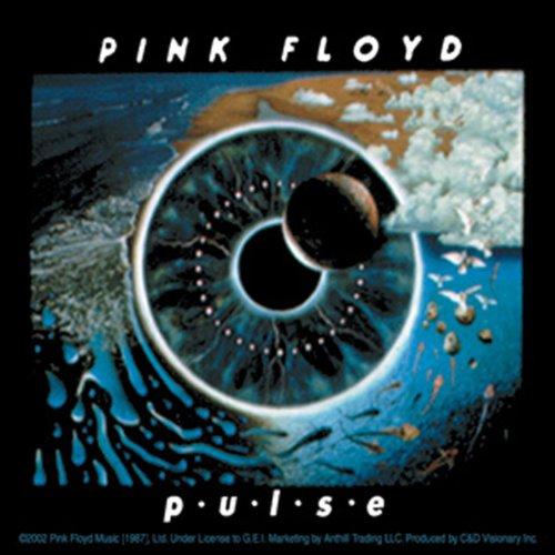 "Preisvergleich Produktbild PINK FLOYD Pulse, Officially Licensed Original Artwork, Premium Quality, 4"" x 4"" - Sticker Aufkleber DECAL"
