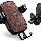 Kabelloses Kfz-Ladegerät, [360 ° Drehbar] Schwerkraft-Sensor Kfz-Halterung Air Vent Handyhalter QI Wireless Standard-Ladegerät mit Anti-Rutsch-Tuch Streifen für iPhone 8/8 Plus / X Galaxy Note 8 / S8 / S8 +