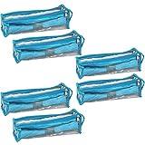 PrettyKrafts Bangle Box Organiser Roll (Blue) - Set of 6