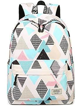 Joymoze Wasserdicht Schule Rucksack für Mädchen Mittelschule Süß Bücher Tasche Tagesrucksack für Frauen