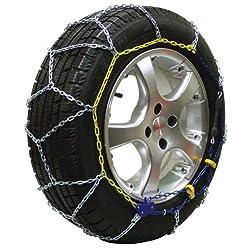 Michelin 89805 Schneekette M1 Extrem Grip 68, ABS und ESP kompatibel, TÜV/GS und ÖNORM, 2 Stück