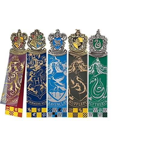 Harry Potter Bookmark 5 Pack Crest Noble Collection