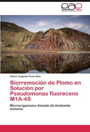 Biorremocion de Plomo En Solucion Por Pseudomonas Fluorecens M1a-4s por Gelver Augusto Rivas Blas