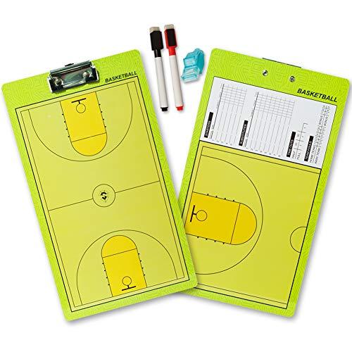 Shinestone secco Per allenamenti 2 sided Boards tecniche Multisport calcio pallavolo pallacanestro hockey su ghiaccio calcio baseball