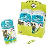 Hunter Hunde O-Tom® Zeckenhaken Zeckenzange Hundezeckenzange Zeckenzieher Hundezeckenzieher grün