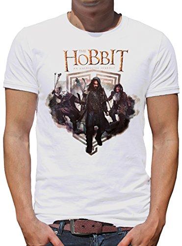 TLM The Hobbit - Dwarfs T-Shirt Herren XXL (Billig Kostüm Beutlin Frodo)