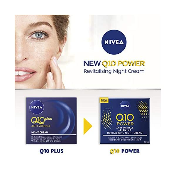 NIVEA Q10 Power Anti-arrugas y reafirmante W2