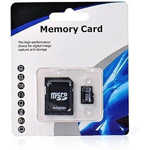 Tarjeta micro SD SDHC de 64GB Clase 10con adaptador libre