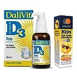 DaliVit D3 + FREE Uvistat Kids SPF50 Lipscreen