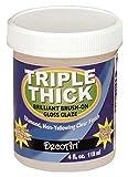 Deco Art Triple Thick Brilliant Brush-On Gloss Glaze 4Oz-