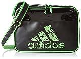 adidas Umhängetasche Freizeit, Schwarz/Solar Green, 50 x 35 x 8 cm, 28 Liter, adiACC110CS3-L